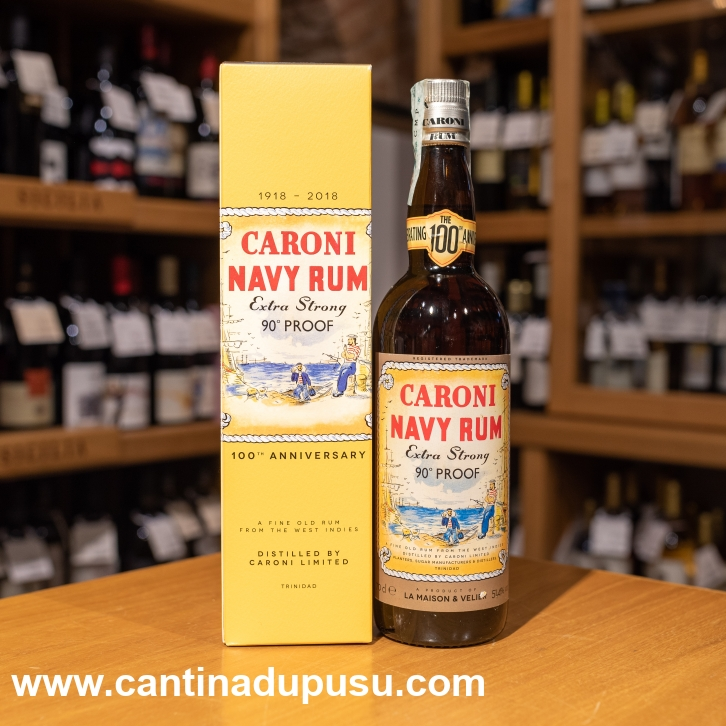 Rhum Caromi Navy 90° Proof