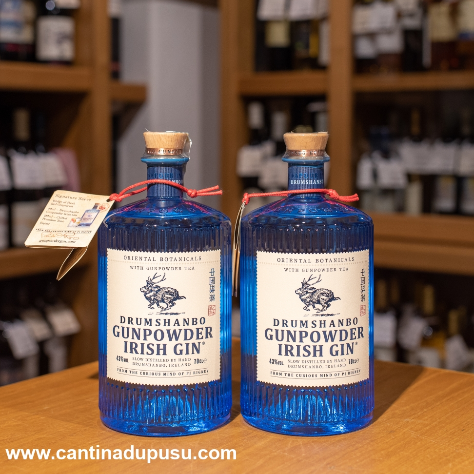 Gin Irish Gunpowder Drumshanbo