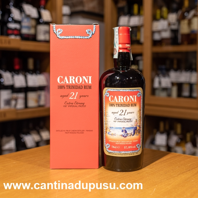 Rhum Caroni 21 Years Old