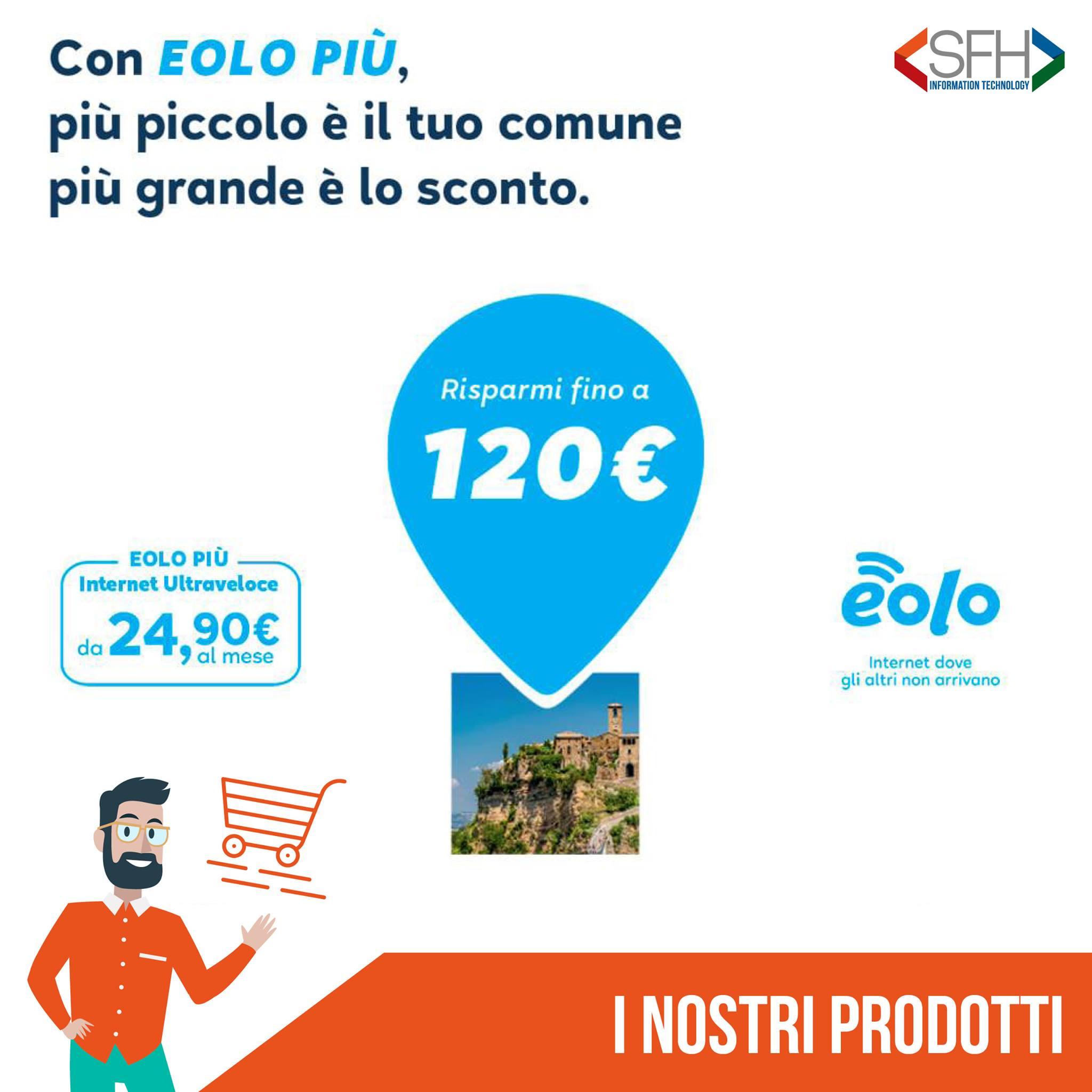 PICCOLO COMUNE GRANDE SCONTO